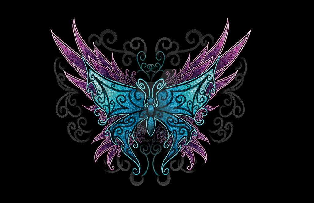 Butteryfly Design by BlackHawk45LC