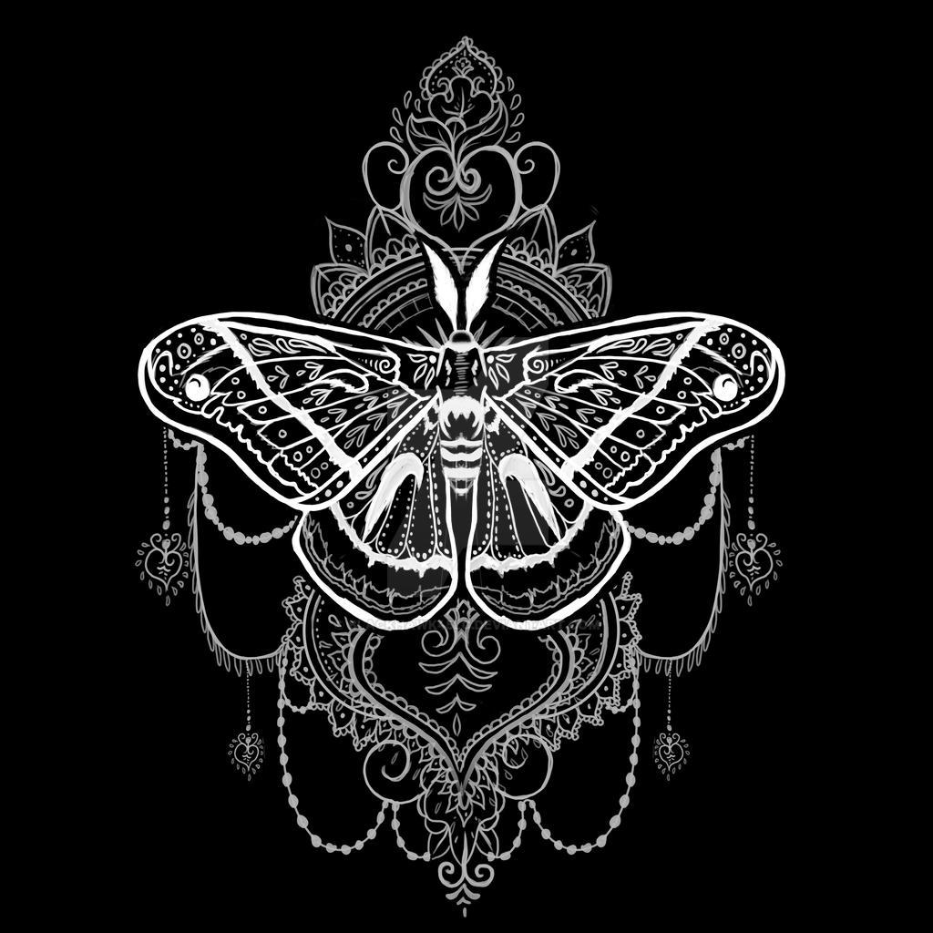Moth design by BlackHawk45LC