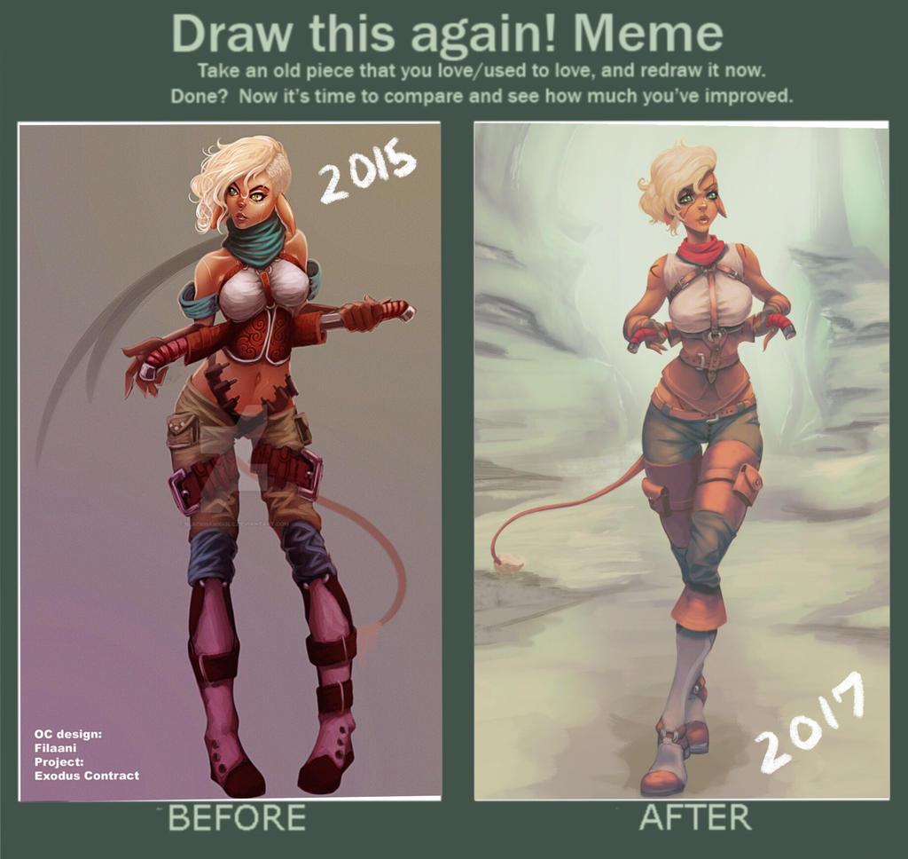 Filaani draw it again meme by BlackHawk45LC