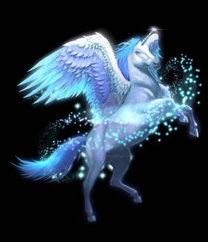 Winged Unicorn Commission