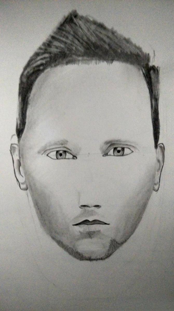 Face Drawing 1 by JinxedEye