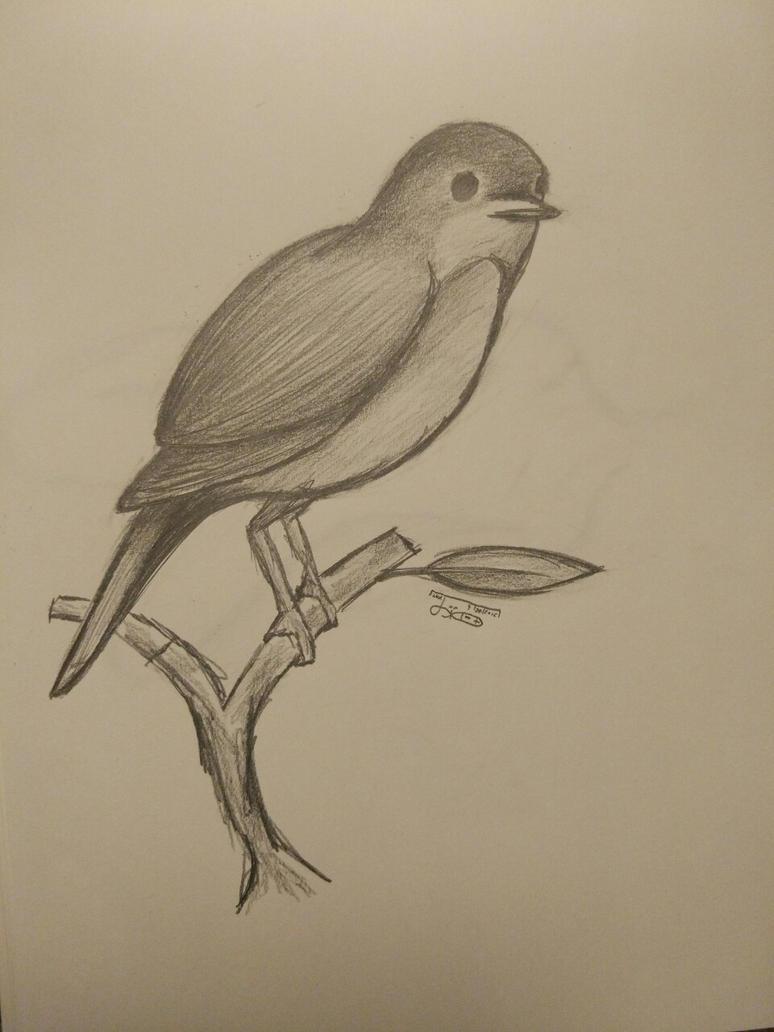 A Nightingale by JinxedEye
