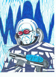 Mr.Freeze-Portraits of Villainy by Vultureclaw