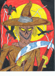 Scarecrow-Portraits of Villainy by Vultureclaw