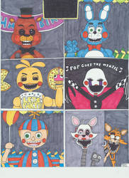 Five Nights at Freddy's by Vultureclaw