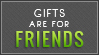 Gifts For Friends (Lime Green) by MissMalefic-Stock