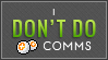 Dont Do Point Comms (Lime Green) by MissMalefic-Stock