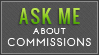 Ask About Comms (Lime Green) by MissMalefic-Stock