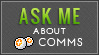 Ask About Point Comms (Lime Green) by MissMalefic-Stock