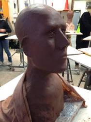 Bust: preliminary form by BlueBoxDrifter
