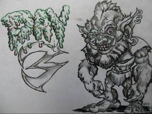 Drawloween day 3: Goblin