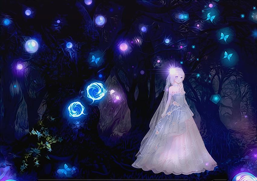 The Dark Forest by Kan-neko