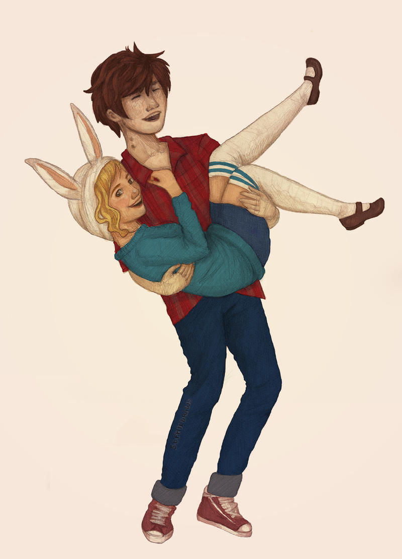 You're so heavy Fionna! by sophalis