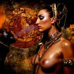 Cat queen by aninur