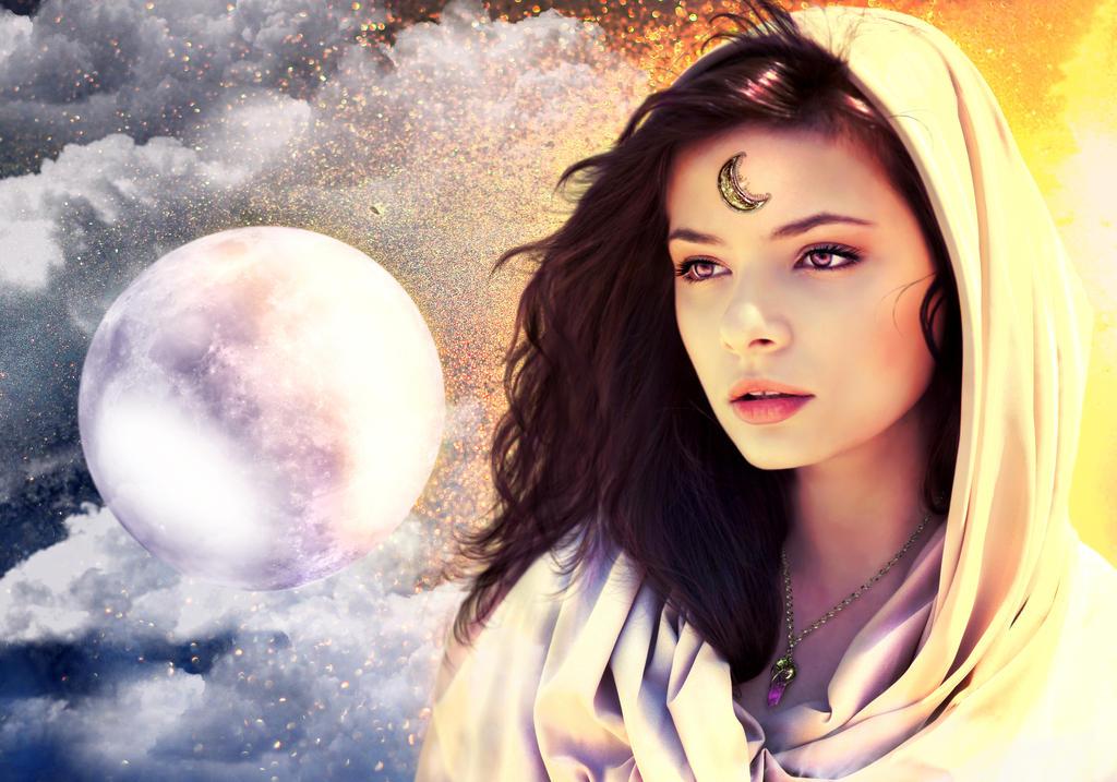 Moon Goddess by aninur