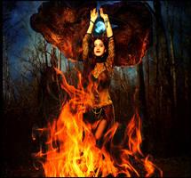 Goddess of Fire by aninur