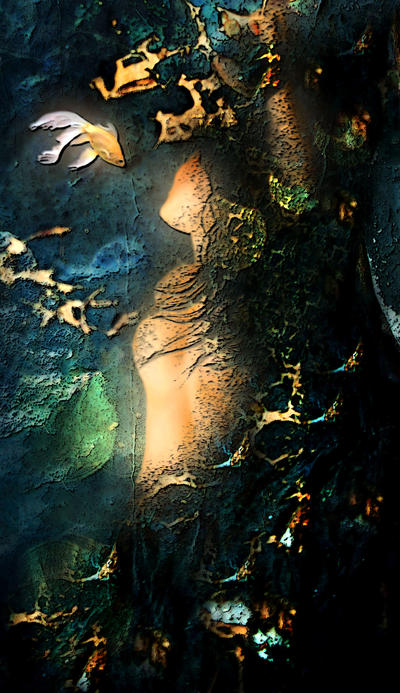 A wild dance of sea goddess by aninur