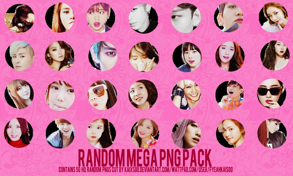 Random Mega PNG Pack by kaixsoo