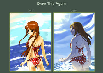 Draw this again - Mei maillot