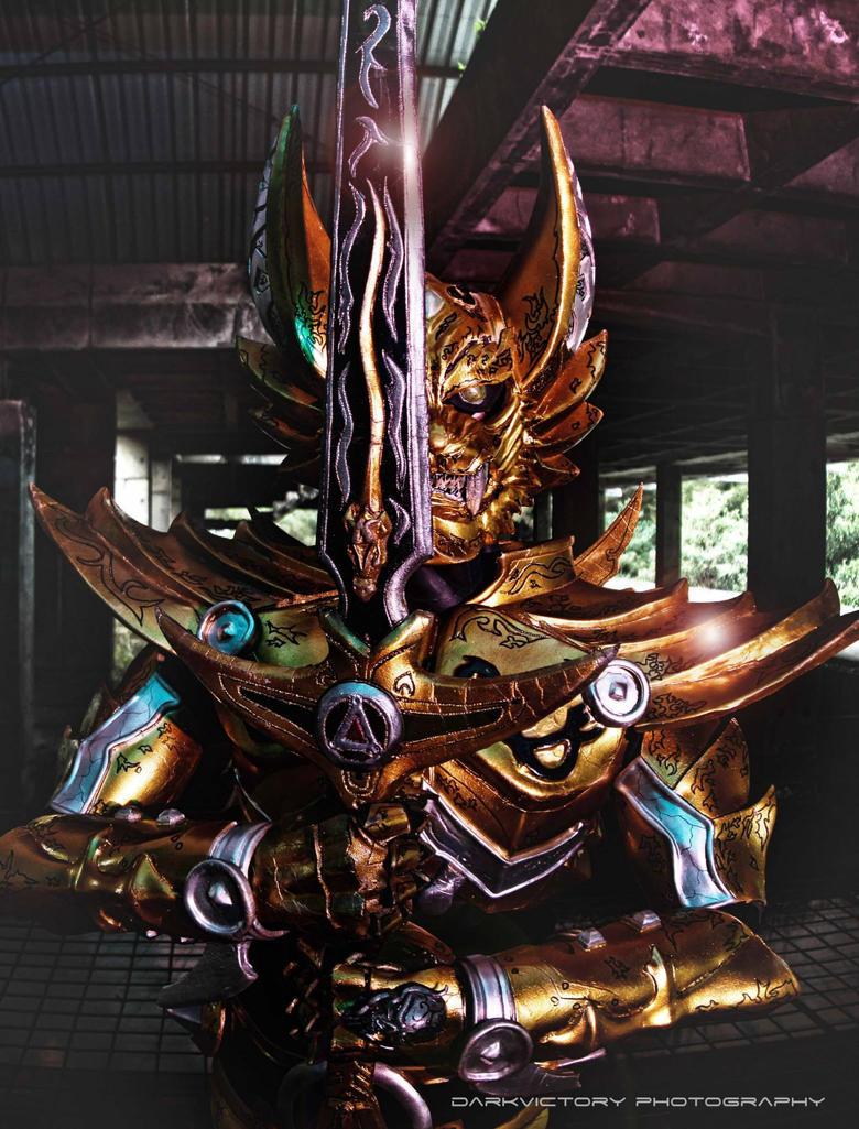 Ougon Kishi Garo by xlunaticxnoirx