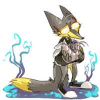 Kelvin with isopod by wimpod