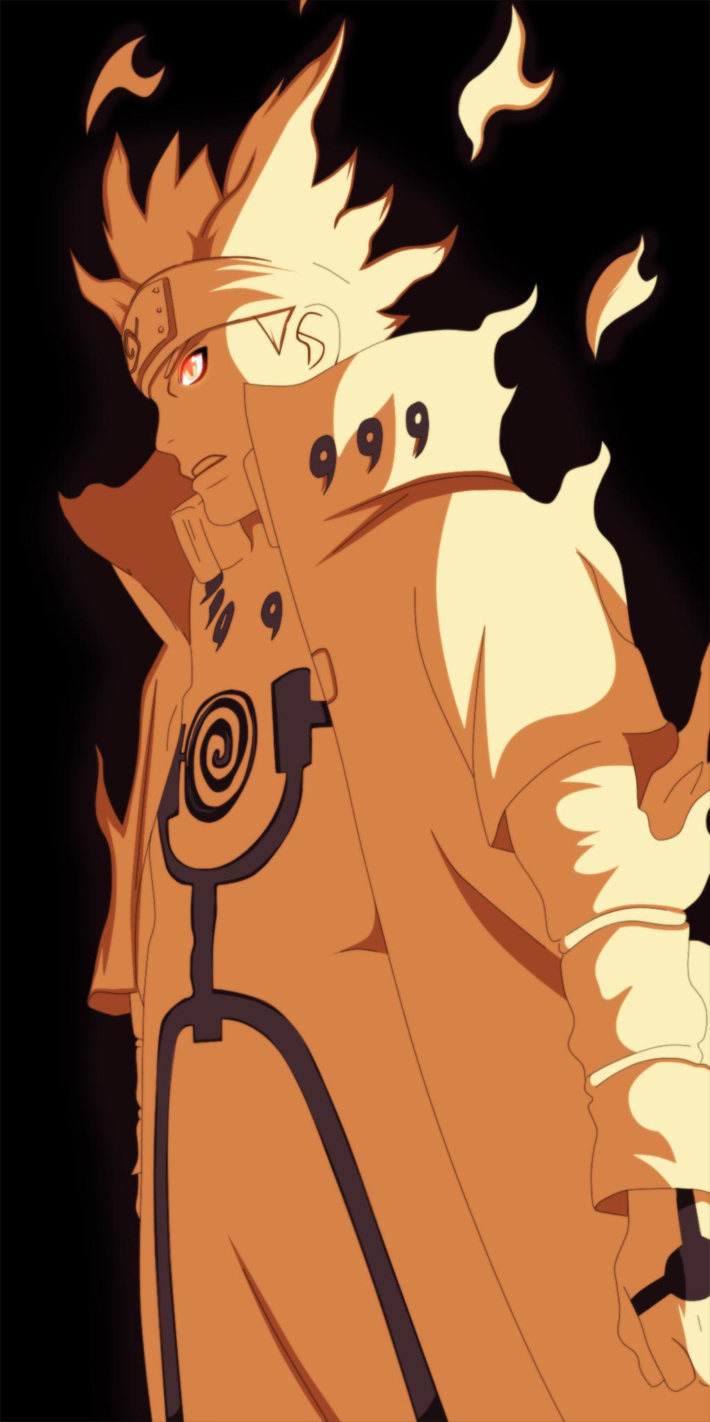 Naruto 631 - Minato Bijuu mode by DanKun94Naruto And Minato Bijuu Mode