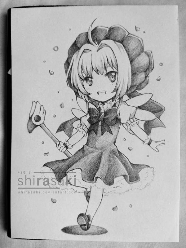 Sakura-chan by shirasaki