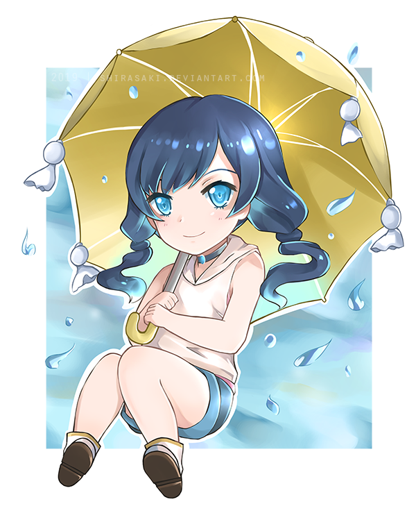 Child Of Weather Hina Amano By Shirasaki On Deviantart