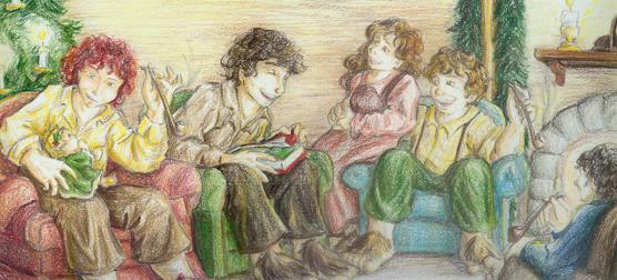 Detail--Christmas at Baggend by xanykaos