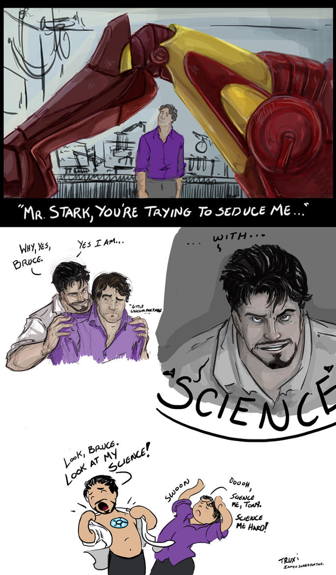 With...SCIENCE! by xanykaos