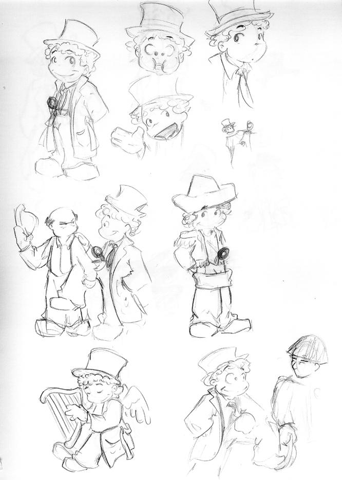 Harpo Sketches by xanykaos