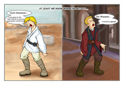 Star Wars Continuity... by xanykaos