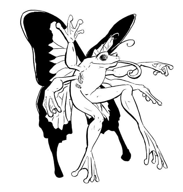 Mutant Hybrid 2: Butterfrog