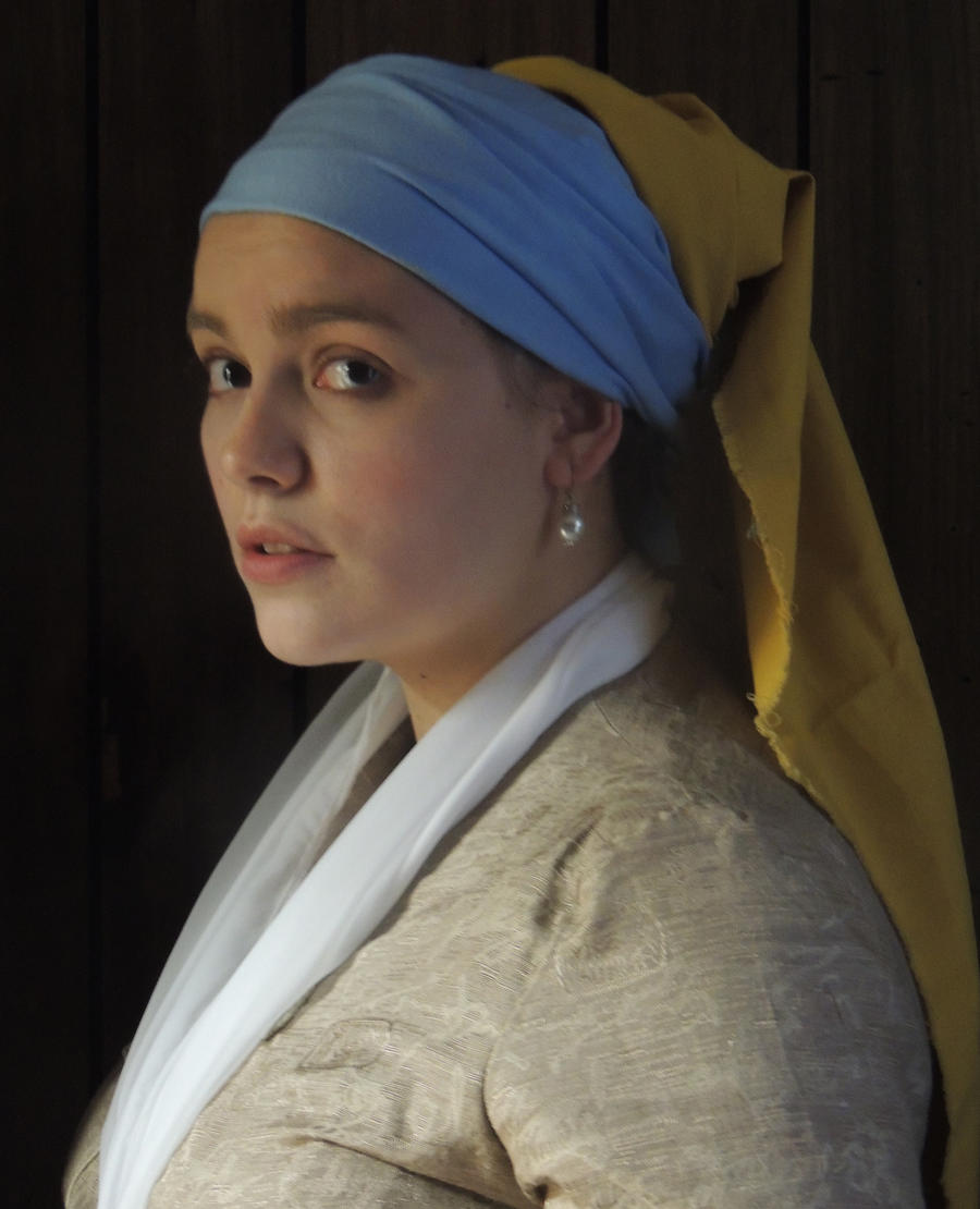 Girl with the Pearl Earring - 15 minute costume