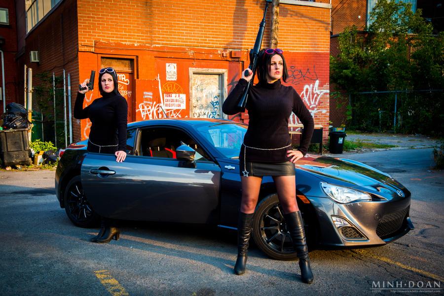 Saints Row: The Third - DeWynter Twins by maverickdelta