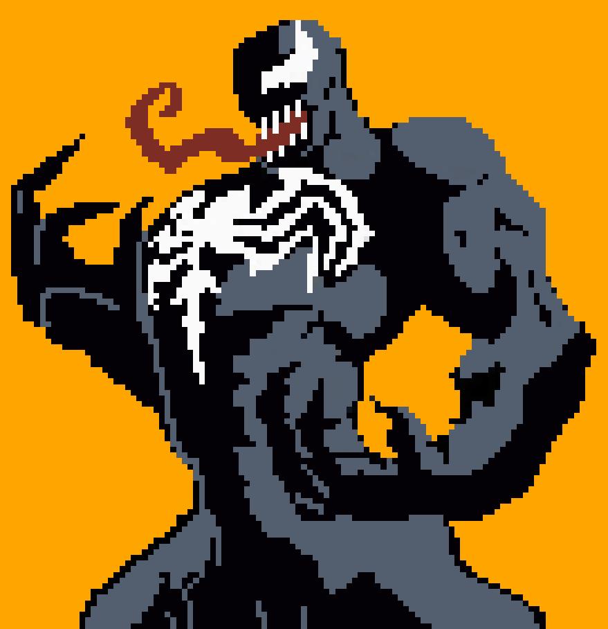 images?q=tbn:ANd9GcQh_l3eQ5xwiPy07kGEXjmjgmBKBRB7H2mRxCGhv1tFWg5c_mWT Pixel Art Venom @koolgadgetz.com.info
