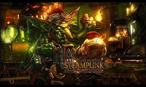 Goblin steampunk by Sergiomol