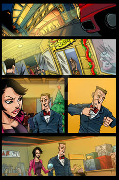 The Adventures of Joe and Nancy page 1 colore