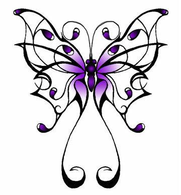 butterfly tat