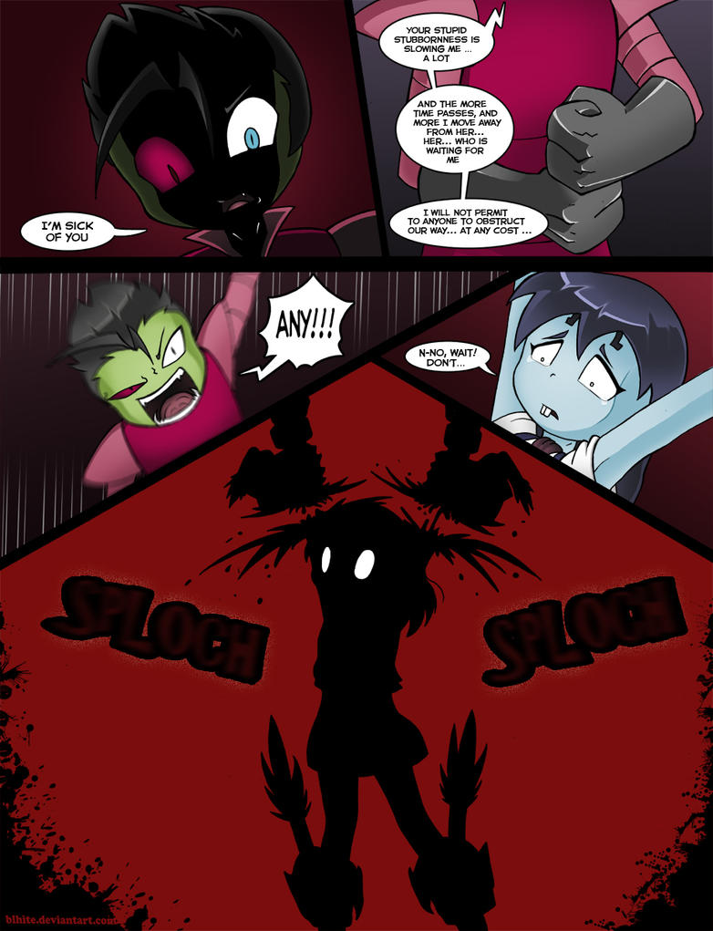 Invader Zim Conqueror Of Nightmare Page 27 By Blhite