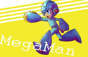 MegaMan by DezzManX