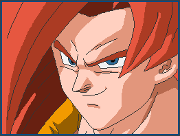 Gogeta SSJ4 - PixelOver by Luned13