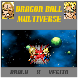 Broly vs Vegito - DBM by Luned13