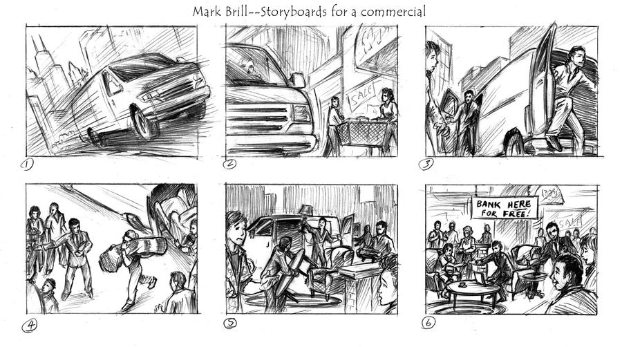 Storyboard Sample By MBrill On DeviantArt