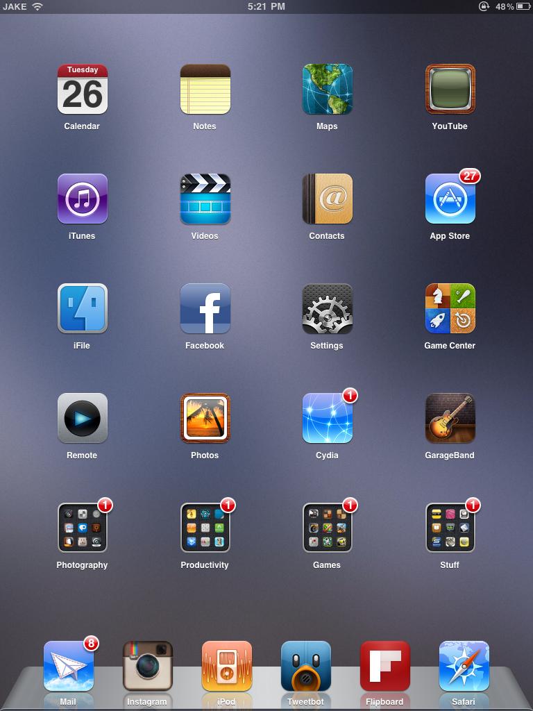 Ipad Screenshot Email
