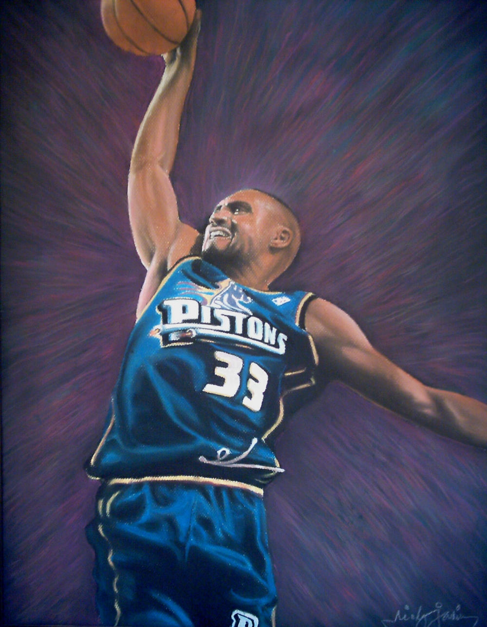 grant hill by ikoy on DeviantArt