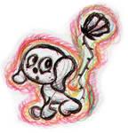 Flower Tail Dog