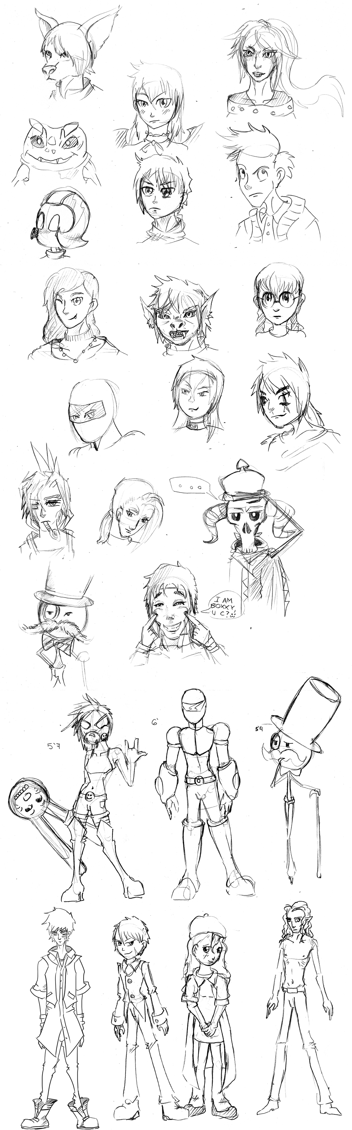 Roulette City Characters by TheClintHennesy