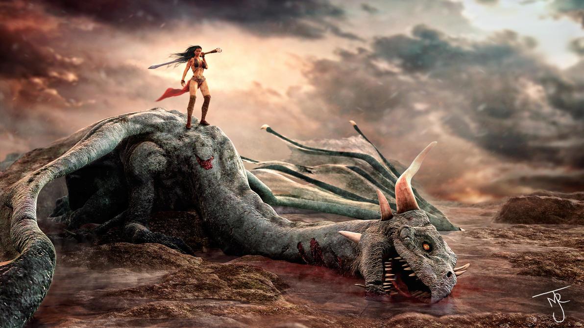 Dead Dragon by tab109