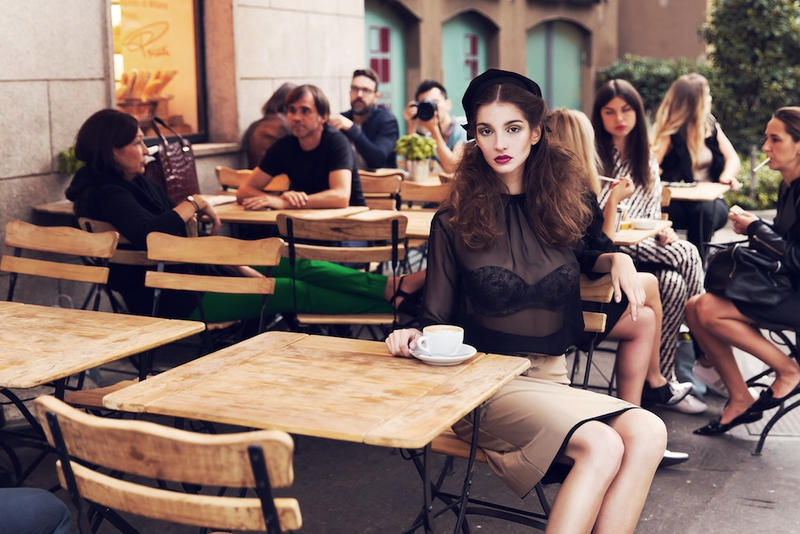 Donna Milano 3 by silkephoto